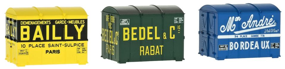 REE Container cadre xb058