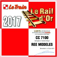 ree LE TRAIN 2017 CC7100
