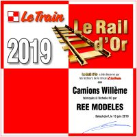 ree rail or 2019 le train camion Willeme