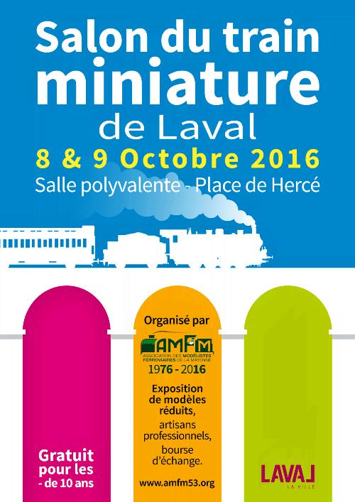 Salon du train miniature laval 2016 ree mod les for Salon du train miniature